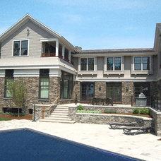 Traditional Exterior by David Bartsch Landscape Architecture LLC