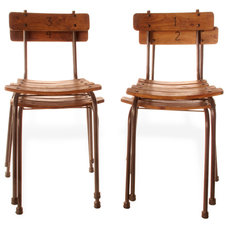 Eclectic Dining Chairs by Kathy Kuo Home