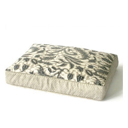 Dransfield and Ross - Laguna Coral Dog Bed | Slate, 35 X 53 X 4 H - Name Laguna Coral Dog Bed