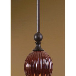 "21875 Ervina Red, 1 Lt Mini Pendant by uttermost - Get 10% discount on your first order. Coupon code: ""houzz"". Order today."