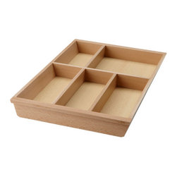 Mikael Warnhammar - Rationell Flatware Tray Basic Unit - These are perfect for organizing all of my flatware and serving utensils. I'll take about 15 of them.