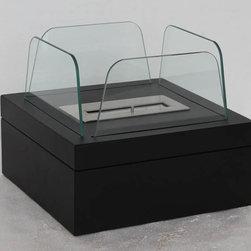 "Astor - Modern Ventless Table Top Ethanol Fireplace - "" ASTOR ""  Table Top Ventless Ethanol Fireplace"