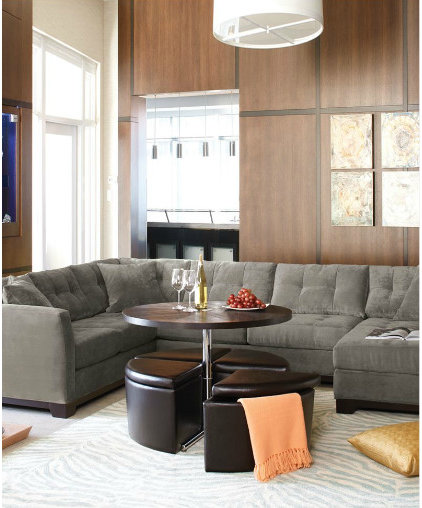 Contemporary Sectional Sofas by Macy's