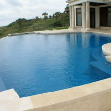 Contemporary Pool by Poolside Designs