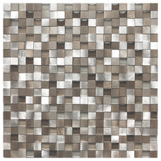 contemporary kitchen tile by Eden Mosaic Tile