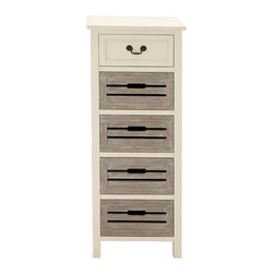 Gorgeous Exquisite Wood Tall Dresser - Description: