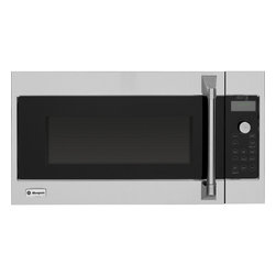 GE Monogram - GE Monogram Advantium® 120 Above-the-Cooktop Speedcooking Oven - The remarkable performance capabilities of a Monogram Advantium speedcooking oven are matched by the bold design, which beautifully complements other Monogram cooking appliances. These ovens deliver delicious results up to eight times faster than a conventional oven, and no preheating is required.