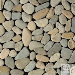 "Pebbles - HALO Stone Design ""Cyan"""