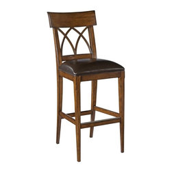 EuroLux Home - New Bar Stool 19th Century English Styling - Product Details