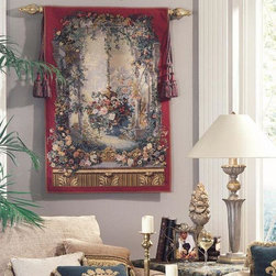 EuroLux Home - New 39x57 Tapestry Royal Garden Edourand - Product Details