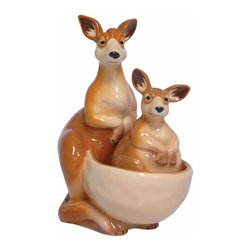 WL - 4.5 Inch Kitchenware Kangaroos Figurines Salt and Pepper Shakers - This gorgeous 4.5 Inch Kitchenware Kangaroos Figurines Salt and Pepper Shakers has the finest details and highest quality you will find anywhere! 4.5 Inch Kitchenware Kangaroos Figurines Salt and Pepper Shakers is truly remarkable.