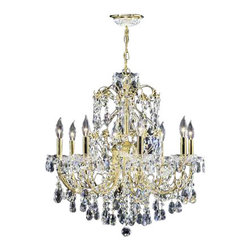 James R Moder - Christina - REGALT Handcut/Polished - In most designs, the major cost of a Crystal Chandelier is the price of the Crystal components. The quantity and shapes of the Crystal utilized to trim the Chandelier and most importantly, as in grades of diamonds, the crystal quality determines the price. James R Moderr Crystal offers our exclusive REGALT HAND-CUT AND POLISHED CRYSTAL (-44). These Chandeliers are trimmed with hand-cut and other Crystal produced by artisans in EUROPE and worldwide. This quality is popular for those who appreciate fine handcraftsmanship at a moderate price.