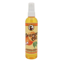 Howard Orange Oil Wood Cleaner Polisher 8oz - Safe to use on teak and other oiled or waxed woods   The power of real orange oil. Natural essence oil is derived from the rind of oranges and has excellent cleaning properties. These naturally occurring cleaners replace the need for a lot of harsh chemicals.
