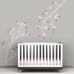 Littlelion Studio Blossom Branches Wall Decal - Littlelion Studio Blossom Branches Wall Decal