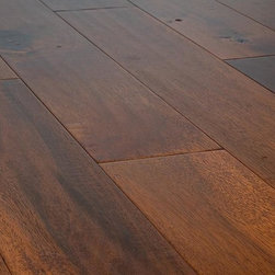 "Jasper - Jasper Engineered Hardwood - Distressed Harbors Collection - [17.5 sq ft/box] - Acacia Natural / 5"" / 1/2"" / Random Length -Jasper's Distressed Collection is a unique line of wide plank, distressed engineered wood flooring. Made to capture the rich color of each species, Jasper has designed a 7-ply constructed, 2 mm top-layered engineered floor that will adorn any interior for years to come. Complete with a residential 25 year finish and lifetime structural warranty, confidence in the look and make of this product is a given. The satin finish is bolstered by 7 coats of aluminum oxide for maximum wear resistance."