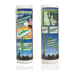 Bambooee - Bambooee Green Cleaning Duo: Bambooee Reusable Bamboo Towel and Bambooee Sweeper - Bambooee is helping to save the planet one cleaning job at a time. The brand offers two bamboo rayon cleaning solutions: Bambooee Bamboo Paper Towels and Bambooee Sweeps Bamboo Sweeper Pads. Now, you can try out both of these innovative green cleaning pro