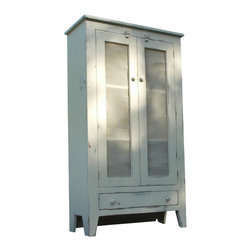 Fable Porch Furniture - Country Pie Safe, 34 X 15 X 72 -