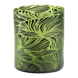 Cyan Design - Cyan Design Willow Vase in Green and Black - Willow Vase in Green and Black