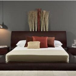 Bestsellers - Modloft Waverly Queen Bed MD307-Q-WEN