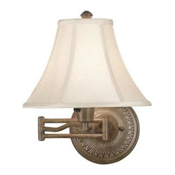 Kenroy Home - Kenroy Home Amherst Wall Swing Arm Lamp 21395NUT - Shop for Lighting & Fans at The Home Depot. The town of Amherst, home to scholars and poets, serves as inspiration for this wall swing arm lamp. Small details in the base and receded columns give elegance and style to this design. Amherst offers an upscale look to traditional task lighting.