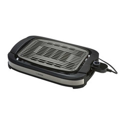 Zojirushi - Zojirushi EB-DLC10 Indoor Electric Grill - -Large grilling surface designed to direct oils away from food for healthy grilling