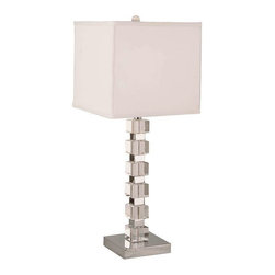 Trans Globe Lighting - Trans Globe Lighting CTL-308 Table Lamp In Polished Chrome - Part Number: CTL-308