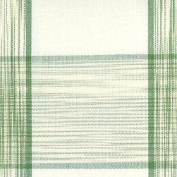 PLAID/CHECK - LEMONGRASS - 100% Cotton. For Decorative Use Only.   Made in INDIA.