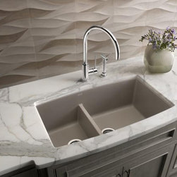 Blanco Farmhouse Sink : Blanco Silgranit Ii Kitchen Sinks: Find Apron and Farmhouse Sink ...