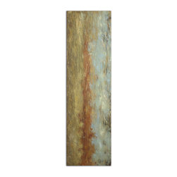 Red Clay Hand Painted Art - Tranquil, Earth Tone Colors Are Used In Creating This Hand Painted Artwork On Canvas. The Canvas Is Stretched And Attached To Wood Stretching Bars. Due To The Handcrafted Nature Of This Artwork, Each Piece May Have Subtle Differences.