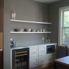 Traditional Dining Room by Casa Flores Cabinetry