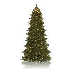 Balsam Hill Berkshire Mountain Fir™ Artificial Christmas Tree - THE COMPACT BEAUTY OF BALSAM HILL'S BERKSHIRE MOUNTAIN FIR™ CHRISTMAS TREE