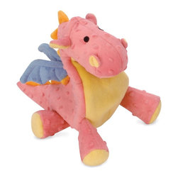 Go Dog - Go Dog Coral Dragon Dog Toy with Chew Guard - 770638 - Shop for Dog Toys from Hayneedle.com! Dragons are known for being tough and the GoDog Coral Dragon Dog Toy with Chew Guard is no exception. This soft plush toy is crafted with Chew Guard technology that provides a double-seamed design to keep your pup's favorite toy intact. Multiple sizes are available so find the one that best fits your breed.