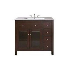 Contemporary Bathroom Vanities And Sink Consoles by The Classy Cottage