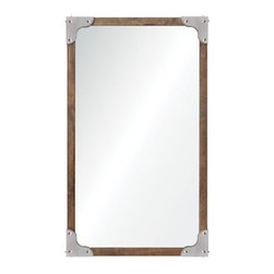 """Ren Wil - Ren Wil MT1438 Advocate 24"""" Rectangle Wall Mounted Mirror - Features:"""