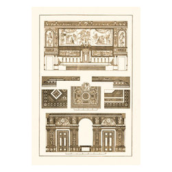 Buyenlarge - Decoration of Large Halls 20x30 poster - Series: Renaissance