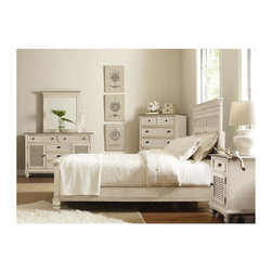Riverside Furniture - Coventry Two Tone 5-Piece Panel Bedroom Set (Queen) - Choose Size: Queen