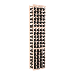 Wine Racks America - 4 Column Standard Wine Cellar Kit in Pine, White Wash - Rock solid design from our unparalleled fabrication standards. We create superior racks from superior materials. We back that claim with a lifetime warranty and a cash back promise. Modular engineering enables hassle-free expansion and experimentation.