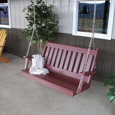 Traditional Porch Swings by Porch Swings Plus