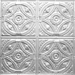 """Decorative Ceiling Tiles - Fountains at Versailles - Aluminum Ceiling Tile - 24""""x24"""" - #1225 - Find copper, tin, aluminum and more styles of real metal ceiling tiles at affordable prices . We carry a huge selection and are always adding new style to our inventory."""