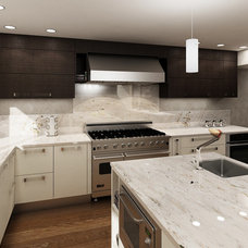 Modern Kitchen Countertops by European Kitchen Art