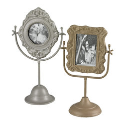Sterling Industries - Sterling Industries 51-10067 Set Of 2 Pastel Tone Picture Frames - Picture Frame (2)