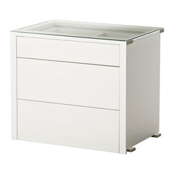 Nike Karlsson - KOMPLEMENT Interior chest of drawers - Interior chest of drawers, white