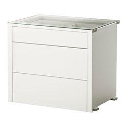 Nike Karlsson - KOMPLEMENT Interior chest of drawers - Interior chest of drawers, white