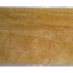 Honey Polished Onyx Skirting Baseboard Decorative Molding Millwork Trim - Double Ogee 5 in. x 12 in. Honey Polished Onyx Skirting Baseboard Decorative Molding Millwork Trim is a great way to enhance your decor with a traditional aesthetic touch. This decorative skirting molding is constructed from durable, impervious onyx material, comes in a smooth, unglazed finish and is suitable for installation on kitchen backsplash, finish wall tile, molding, shower wall, ceramic tile in commercial and residential spaces.