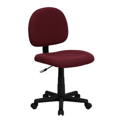 Flash Furniture - Flash Furniture Office Chairs Fabric Task Chairs X-GG-YB-066-TB - This value priced task chair will accommodate your essential needs for your home or office. Ergonomically correct chair that is both comfortable and well priced will satisfy the needs of most computer users. [BT-660-BY-GG]