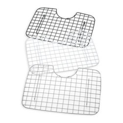Better Houseware Corp. - D-Shaped Sink Protector - D-Shaped Sink Protectors protect your sink, dishes and glassware from chips, scratches and damage. Sink protector provides a grated surface that allows you to air-dry dishes right from your sink.
