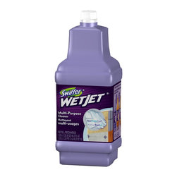 Swiffer - Swiffer 1.25 Liter WetJet Multi-Purpose Cleaner (6-Pack) (23679) - Swiffer 23679 1.25 Liter Wet Jet Multi-Purpose Cleaner (6 Pack)