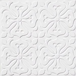 """Decorative Ceiling Tiles - Celtic Fantasy - Faux Tin Ceiling Tile - Glue up - 24""""x24"""" - #101 - Find copper, tin, aluminum and more styles of real metal ceiling tiles at affordable prices . We carry a huge selection and are always adding new style to our inventory."""
