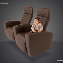 Contemporary Home Theater Seats: Sienna - AN INNOVATIVE AND NEW WAY OF ERGONOMIC THINKING