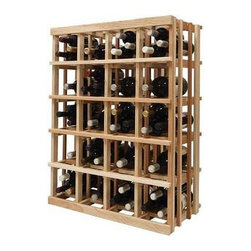 Wine Cellar Innovations - Vintner 3 ft. Double Magnum Wine Rack (Prime Mahogany - Light Stain) - Choose Wood Type and Stain: Prime Mahogany - Light Stain. Bottle capacity: 40. Versatile wine racking. Custom and organized look. Can accommodate just about any ceiling height. Allows for a variety of different-sized bottles to be stored together in the same wine rack. Wine rack: 26.94 in. W x 13.5 in. D x 35.94 in. H (18 lbs.). Optional base platform: 26.94 in. W x 13.38 in. D x 3.81 in. H (6 lbs.). Vintner collection. Made in USA. Warranty. Assembly Instructions. Rack should be attached to a wall to prevent wobble